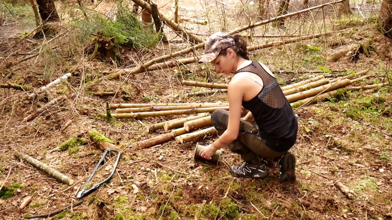 Allein im Wald – Bushcraft & Survival (Web-Doku)