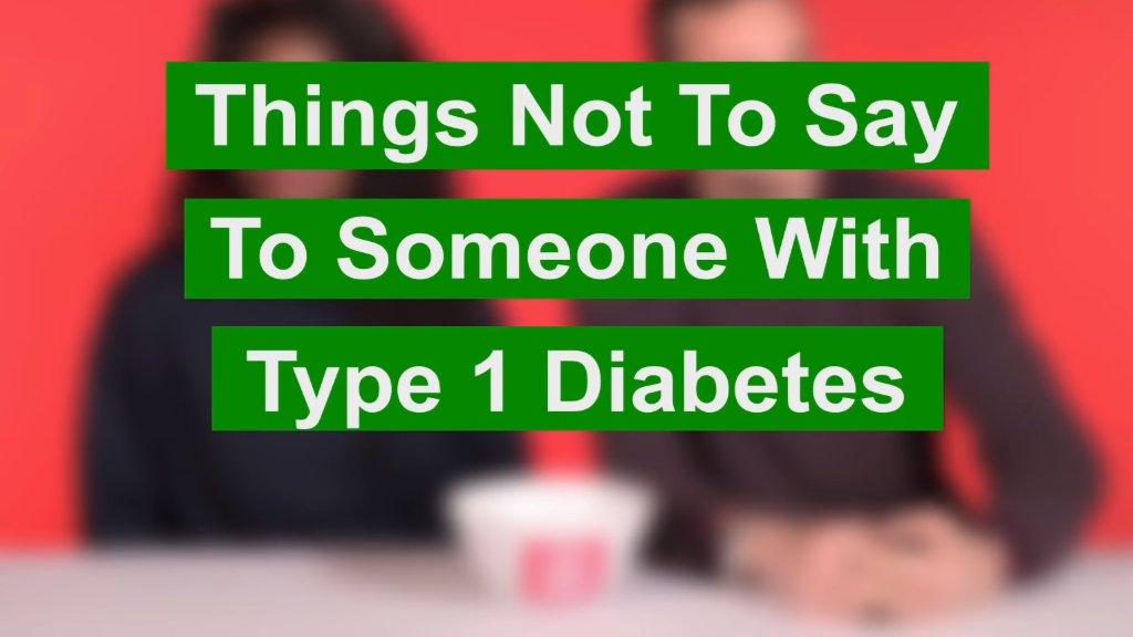 Mit diesen Vorurteilen werden Diabetes-Kranke ständig konfrontiert