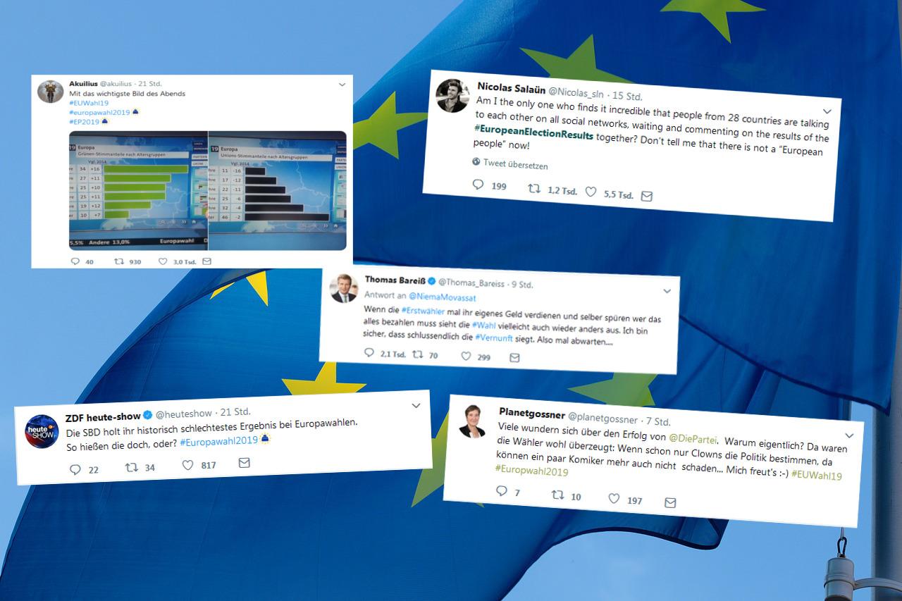 Twitter europawahl