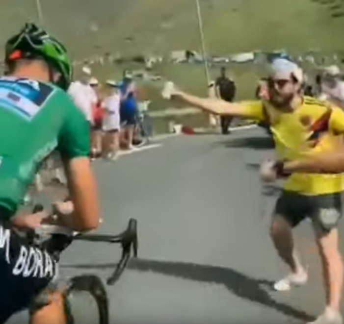 Peter Sagan TdF Screenshot